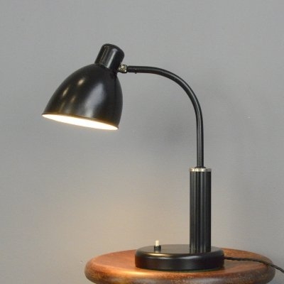 Bauhaus Desk Lamp by Molitor, Circa 1930s