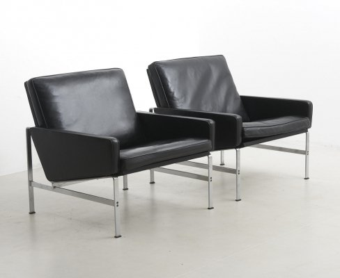 Easy Chairs by Preben Fabricius & Jørgen Kastholm, Germany 1960's