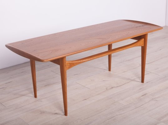 FD 503 coffee table by Edvard Kindt Larsen & Tove Kindt Larsen for France & Daverkosen, 1960s