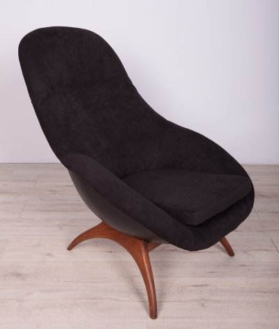 Rocking Armchair by W. S. Chenery for Lurashell, 1960s