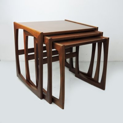 Teak Nesting Tables by Robert Bennett for G-Plan, 1960s