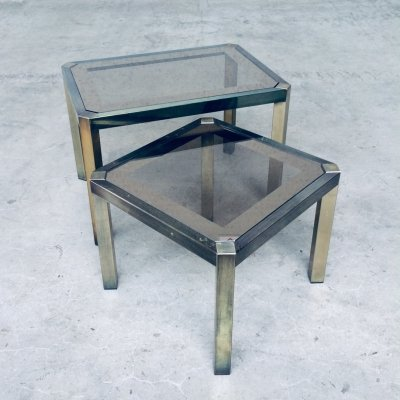 Set of 2 Nesting Tables by Fedam, Holland 1970's