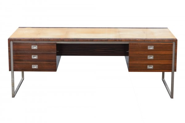 1960s executive desk by De Coene, Belgium