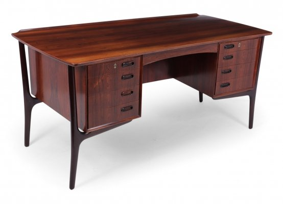 Mid Century Rosewood Desk by Svend Madsen