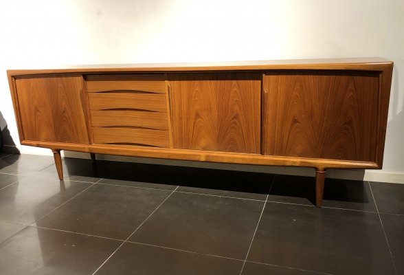 XL Teak Sideboard by Gunni Omann for Axel Christensen, 1960s
