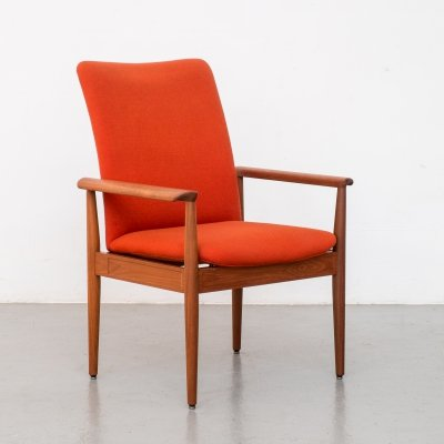 Diplomat chair by Finn Juhl for France & Son, Denmark 1960s