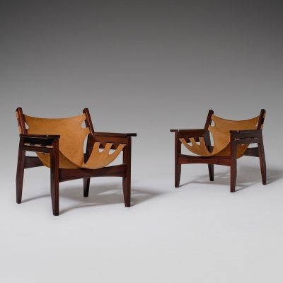 Sergio Rodrigues 'Kilin' chairs for Oca, Brazil 1970s