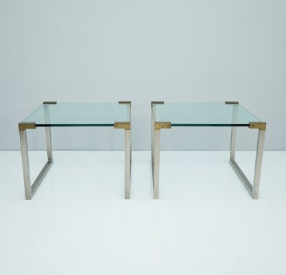 Pair of Side Tables T53 by Peter Ghyczy