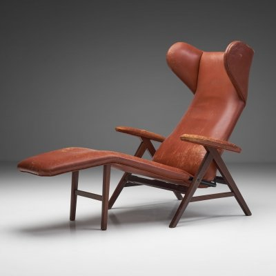 Brown Lounge Chair by Bramin, Denmark 1960s
