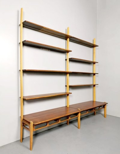Set of 2 vintage design 'ML85' wall units by William Watting for A. Mikael Laursen
