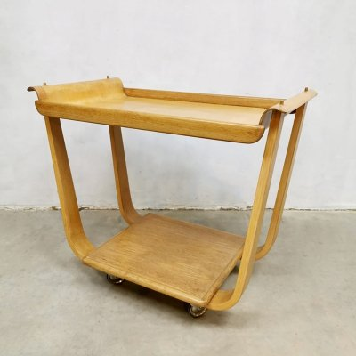 Vintage 'PB31' serving trolley by Cees Braakman for UMS Pastoe, 1950s