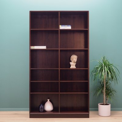 Danish design Bookcase in mahogany, 1970's