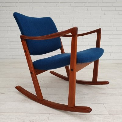 Danish rocking chair, 1960s