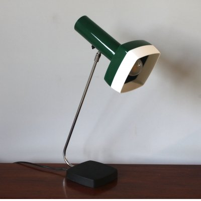 Original 1970's Bent Karlby table light for A. Schrøder-Kemi