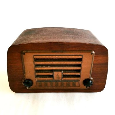 AM Plywood Tube Radio by Charles Ray & Eames for Emerson, 1946