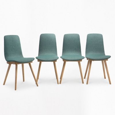 Set of 4 type A-6150 chairs, 1960s