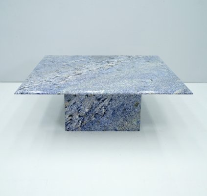Blue Granite Coffee table, 1970s
