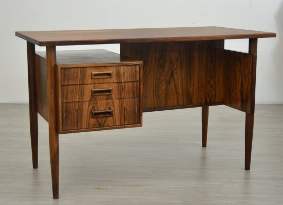 Mid Century Rosewood Danish Writing Desk, 1960s