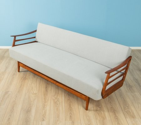 Beech wood sofa, Germany 1950s