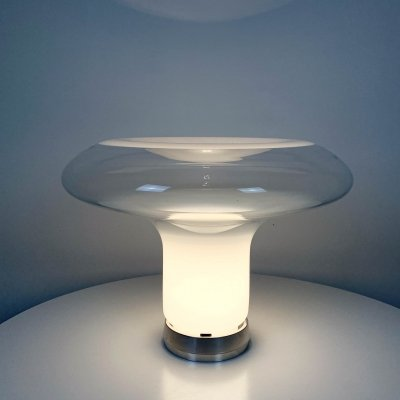 Lesbo Table Lamp by Angelo Mangiarotti for Artemide, 1970s