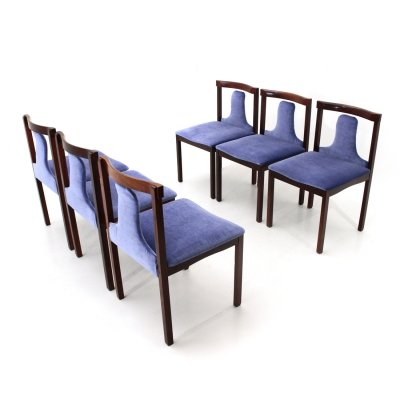 Set of 6 dining chairs by Claudio Salocchi for Sormani, 1960s