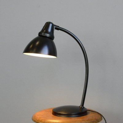 Bauhaus Table Lamp by Peter Behrens for AEG, Circa 1920s