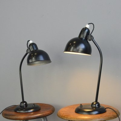 Early Model 6551 Kaiser Idell Table lamp, Circa 1930s
