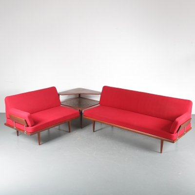 'Minerva' Corner Sofa by Peter Hvidt & Orla Molgaard Nielsen for France & Son