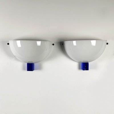 Set of 2 Victor Lights by Venini, 1990s