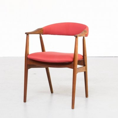 60s Th. Harlev cowhorn chair for Farstrup