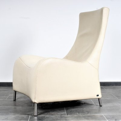 Very rare DS264 in off-white leather by Matthias Hoffmann for De Sede, 1980s