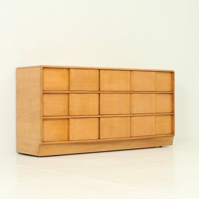 Heywood Wakefield Sculptura Low Dresser, USA 1950's