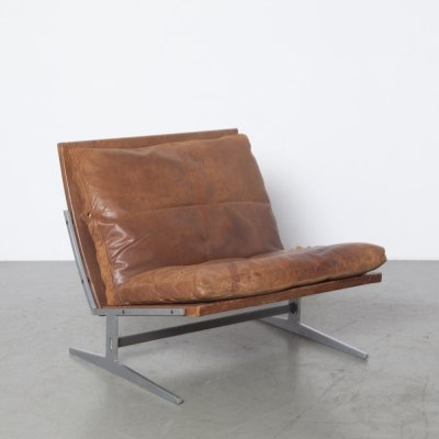 BO-561 lounge chair by Preben Fabricius & Jørgen Kastholm for Bo Ex, 1960s