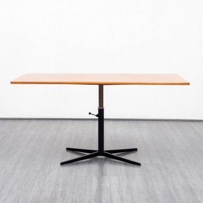 Height-adjustable dining- / coffee table by Wilhelm Renz, 1960s