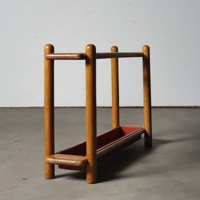 Rare modernist umbrella stand by Bas van Pelt, 1930s