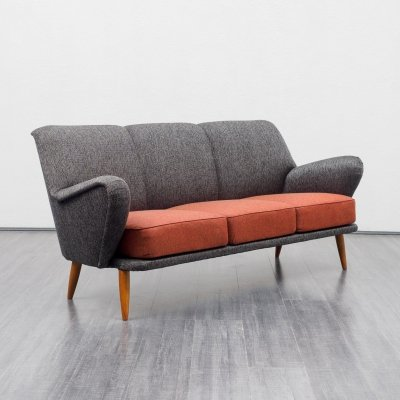 Rare 3-seater cocktail sofa, 1950s