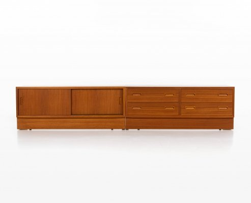 Pair of sideboards by Poul Hundevad for Hundevad & Co, 1960s