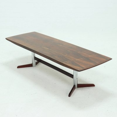 Mid Century Rosewood Coffee Table, 1960s