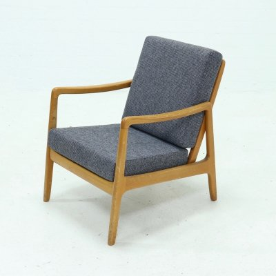 FD109 Lounge Chair by Ole Wanscher for France & Son, 1950s