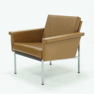 Rare Gispen 1455 Easy Chair by Coen de Vries, 1960s