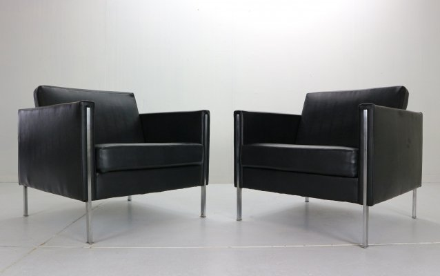 Pierre Paulin set of 2 '442' Club Chairs for Artifort, 1960