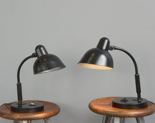 Model L99 Table Lamps by Siemens, Circa 1930s
