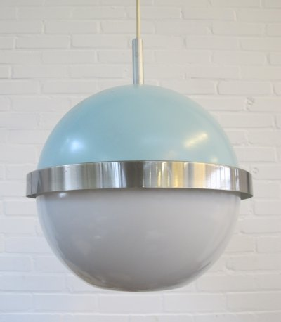 Vintage space age hanging lamp, 1960s