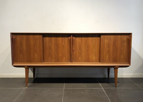 Teak Sideboard by Gunni Omann for Omann Jun, 1960s
