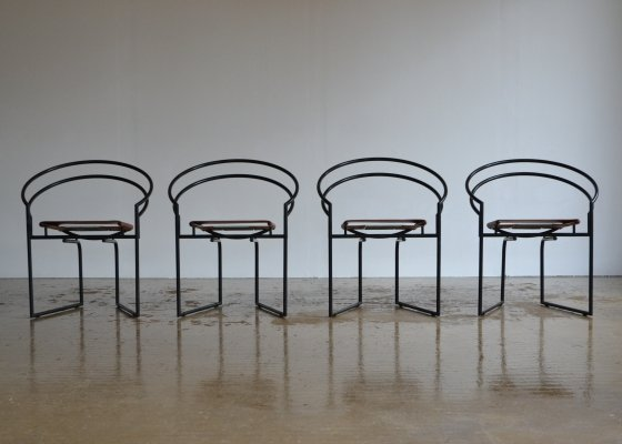 Set of 4 Mario Botta La Tonda chairs, 1987