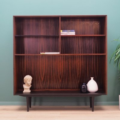 Rosewood bookcase by Brouer Møbelfabrik, Denmark 1970s