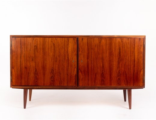 Mid century Danish Hundevad & Co rosewood sideboard by Carlo Jensen, 1960's