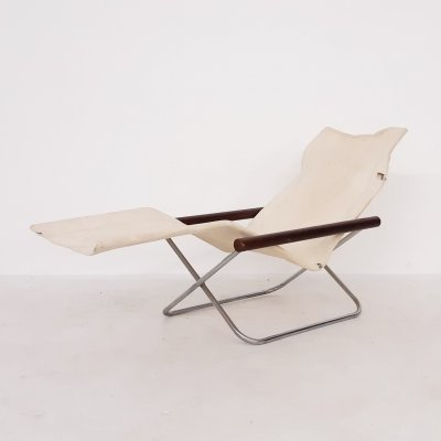 Takeshi Nii 'NY' folding chair or chaise longue, Japan 1958