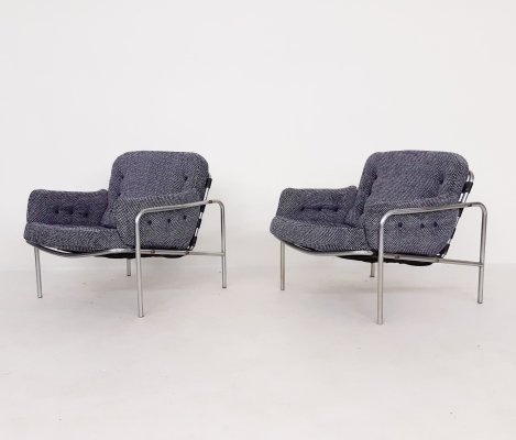 Set of 2 Martin Visser for 't Spectrum 'Osaka' lounge chairs, The Netherlands 1969