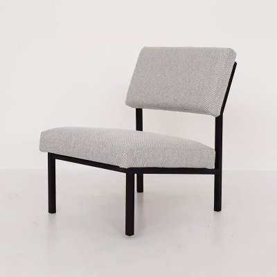 Gijs van der Sluis Model 36DLA lounge chair, The Netherlands 1960's